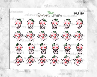 BUJI-259 | Love at First Sight | Hand-drawn Planner Stickers