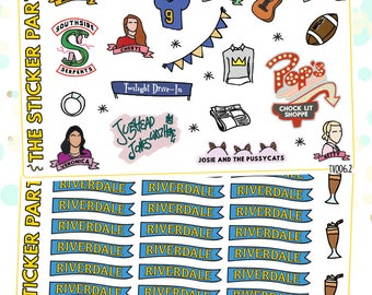 Riverdale TV SHOW Riverdale Planner Stickers
