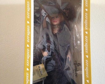 """Effanbee Mae West doll, the """"come up and see me sometime"""" gal, 1982"""