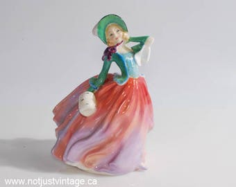 Miniature Royal Doulton Autumn Breeze HN1911