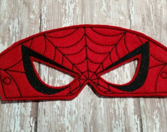 Spider Man Pretend Play Mask Party Favor Dress Up
