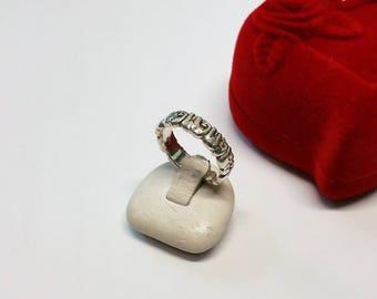 17 mm ring Silver 925 Silver elephant rar SR576