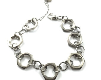 Chain Bracelet Hardware Jewelry Industrial Eco Friendly Gifts under 25
