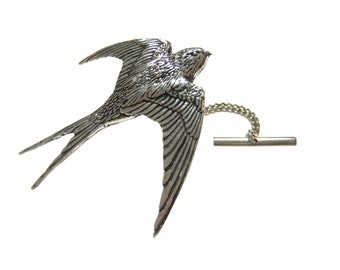 Swallow Bird Tie Tack