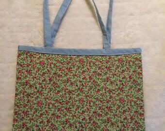 Tote floral bag