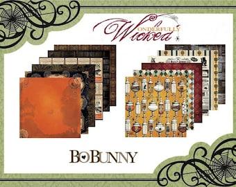 "BoBunny ""Wonderfully Wicked"" Paper Set"