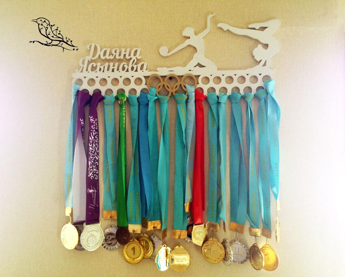 Gymnastik Medaille Aufhänger personalisierte Medaille Halter
