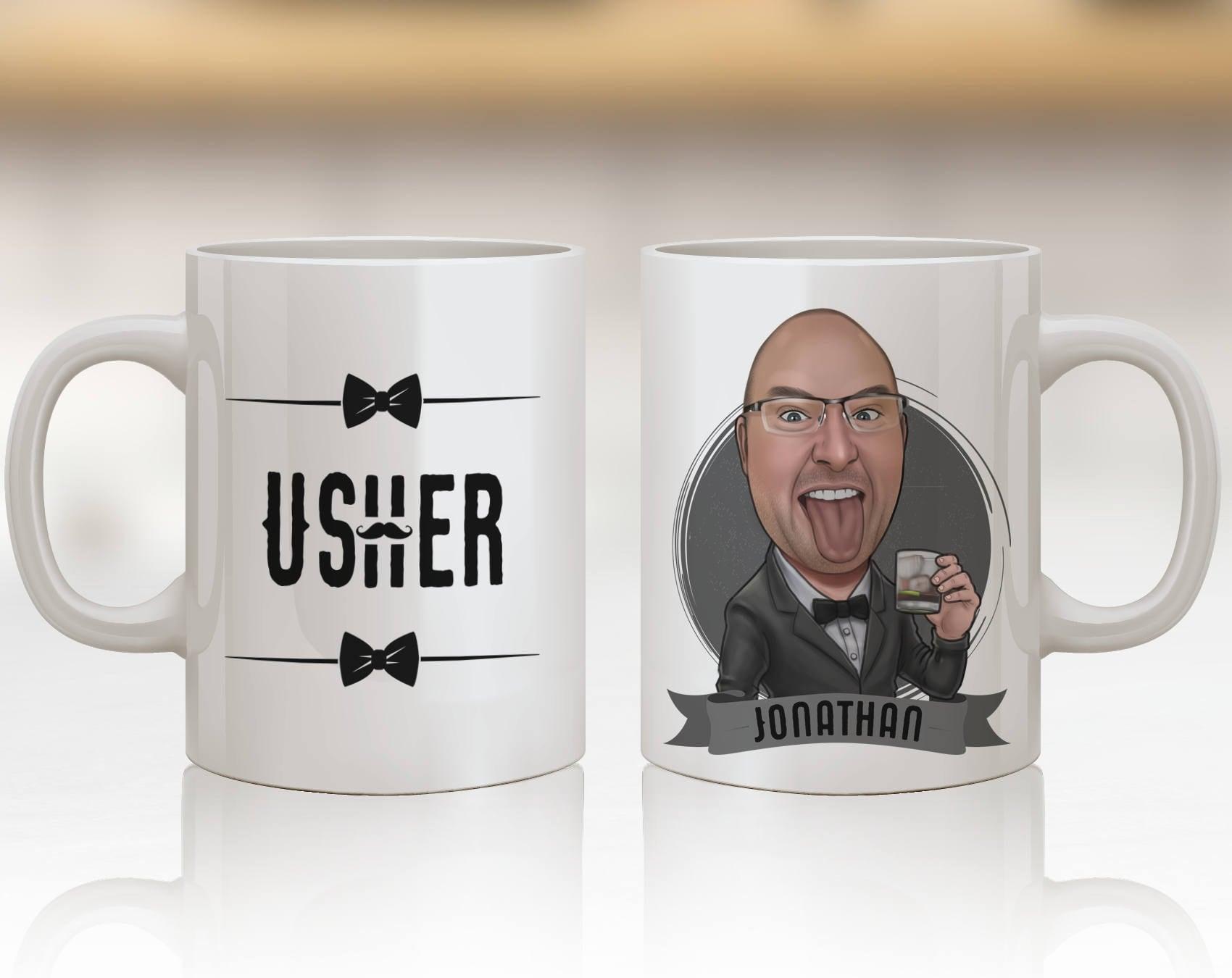 Usher Wedding Gifts: Best Usher Gift Ever Usher Gift Idea Usher Personalized