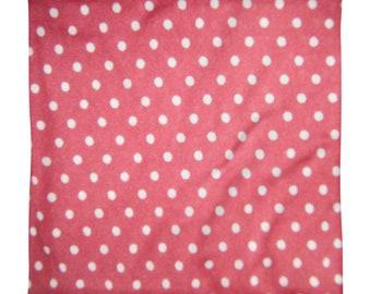Square Pillow Case only Red Polka dot York TruSpirit