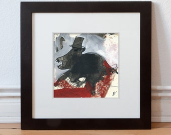 "Image ""evil powers"" 15/15 cm (5.9/5.9 inch)/animal"