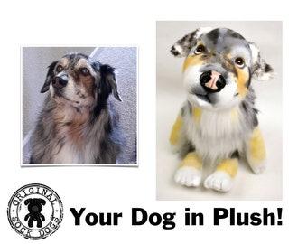 Custom Stuffed Animal Dog, Dog Portrait, Pet Portrait, Loss of Dog, Pet Loss Gifts, Custom Stuffed Dog Memorial, Pet Memorial, Dog Mom