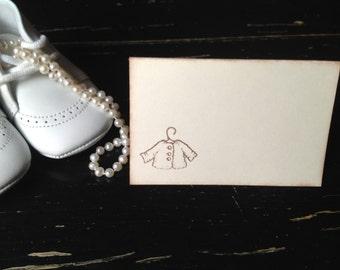 Gender neutral Baby shower place cards-gender neutral baby shower-Seating cards-Set of 12