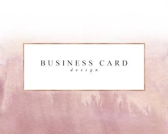Business Card Template / Design