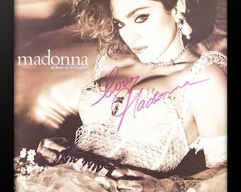 Madonna - Like a Virgin - Signed Poster