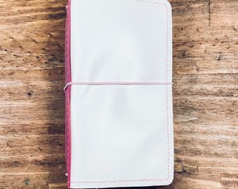 Heart breaker leather travelers notebook -Leather Travelers Notebook