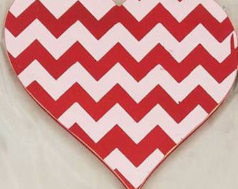 Valentines Heart Interchangeable Wood Welcome Sign Shapes