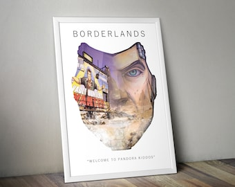 Borderlands A3 Game Art Print
