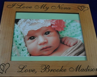 Christmas Gift For Mom ~ Birthday Gift For Mom ~ Baby Frame ~ Custom Frames ~ New Baby Gift ~ Picture Frames ~ Frames For Baby ~ Christmas ~