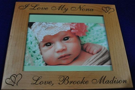 Christmas Gift For Mom Birthday Gift For Mom Baby Frame Custom