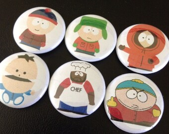 "South Park Pin Set 1"""