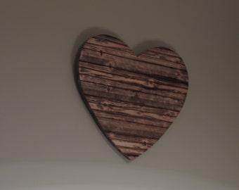 Rustic Wall Heart