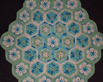 Hexagon blanket / playmat