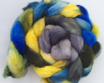 Sweden - handdyed BFL-top 3.5 oz