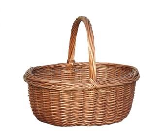 Wicker Shopping Basket Cookery Basket
