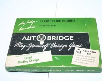 Vintage Autobridge Game PGA Advanced Set