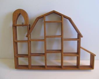 Barns, Barn Shelves, Knick Knack Shelves, Collectible Shelves,  Collectibles, Farm Decor