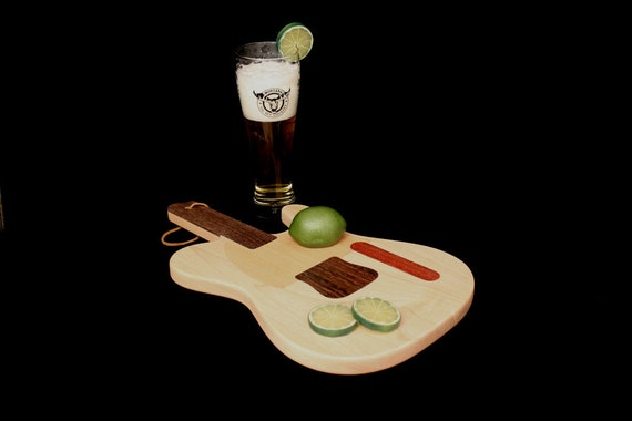 Custom Telecaster Guitar Cutting Board