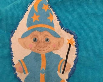 troll patches handmade patch wizard patch