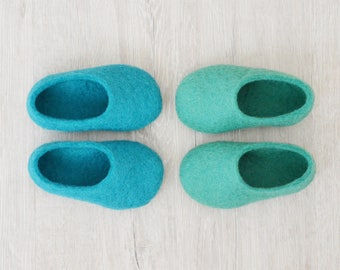 Felted baby booties / baby shoes / newborn baby shoes / kid slippers / baby slippers / baby shower gift
