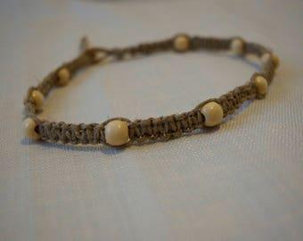 Hemp Macrame Wrap Bracelet