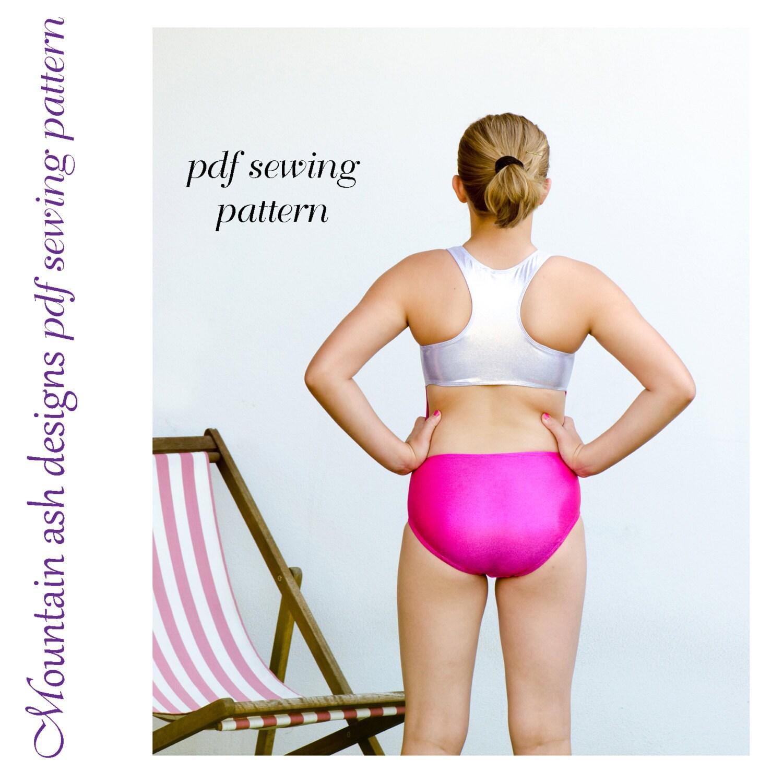 Hannah leotard pattern pdf sewing pattern in girls sizes 2-14