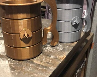 Klingon Mug'Leth Custom printed in color of your choosing.
