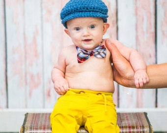 Baby Boy Hat Denim Blue Baby Hat Irish Donegal Hat Ireland Donegal Cap Baby Boy Clothing Baby Boy Clothes Photography Prop Photo Prop