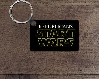 Republicans start wars key chain