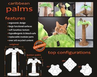 Caribbean Palms - The best cat tree ever!