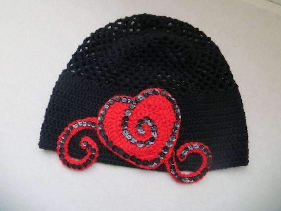 Häkelanleitung Mütze häkeln Beanie schwarz Frühling Hut Muster