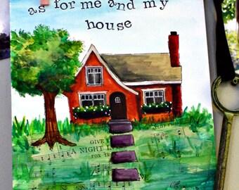 me and my house- printable