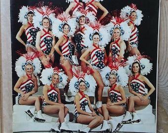 Holiday On Ice 30th Anniversary 1976 Souvenir Program A Salute to America Ice Show