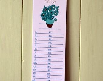 The Illustrated Artist Birthday Calendar