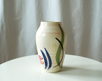 Bohemian Decoration: Vintage Vase - Brush Stroke Vase