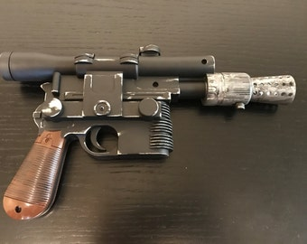 Customized Han Solo DL-44 Blaster from Star Wars