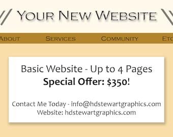 Custom-built Websites!