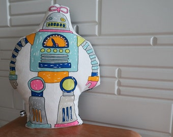 Robot I Plush Toy