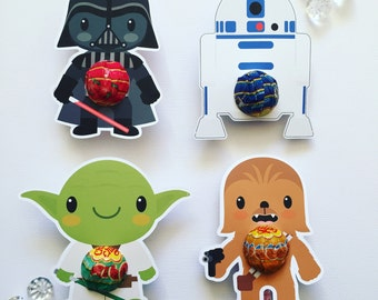 Star Wars lollipop holder