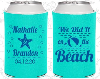 We did it on the beach, Beach Wedding Favors, Tropical Wedding Favors, Starfish Wedding Favors, Starfish Favors (411)