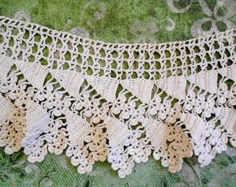 Victorian Light Ecru Crocheted Trim
